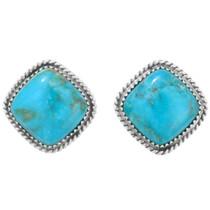 Southwest Turquoise Post Earrings 34975