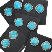 Turquoise Native American Earrings 34975