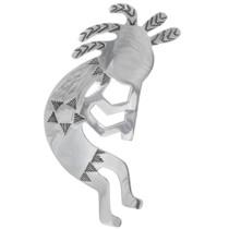 Vintage Navajo Silver Kokopelli Pendant 34980