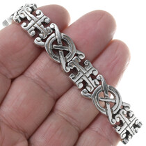 Celtic Interlace Tennis Bracelet 34991