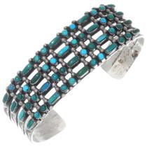 Vintage Zuni Turquoise Bracelet 34999