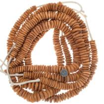 Large Bone Disc Beads Priced Per Strand 35011