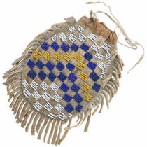 Antique Sioux Beaded Bag 35018