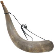 Large Antique Powder Horn 35021
