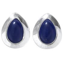 Lapis Lazuli Navajo Earrings 35029