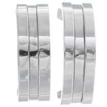 Sterling Silver Hoop Earrings 35036