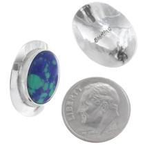 Native American Sterling Silver Post Earrings 35038