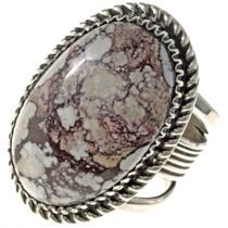 Navajo Wild Horse Sterling Ring 24755