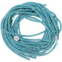Turquoise Heishi Bead Strand 34742