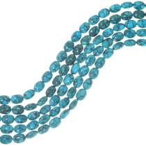 Spiderweb Turquoise Beads 34745