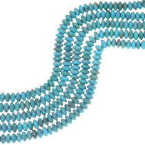 Top Quality Turquoise Rondelles 34746
