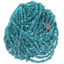 Bright Blue Turquoise Beads 34748