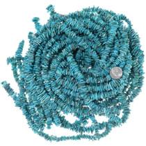 Turquoise Flats Freeform Nugget Beads 34750