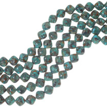 Turquoise Cushion Beads 34753