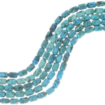 Turquoise Barrel Beads 34758