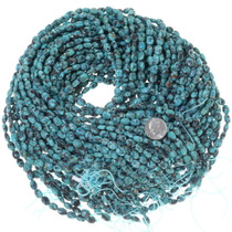 Dalmatian Matrix Aqua Green Turquoise Beads 34760