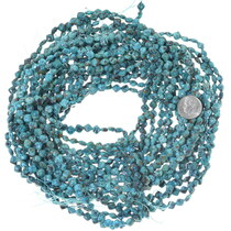 Dark Matrix Aqua Blue Turquoise Beads 34761
