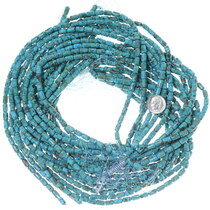High Grade Turquoise Beads Polished Tube Beads 34762