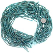Long Cut Turquoise Heishi 34764