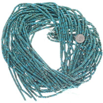Long Cut High Grade Turquoise Heishi 34765