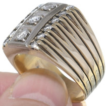 14K Gold Diamond Ring 35053