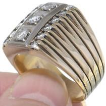 14K Gold Diamond Ring 35053