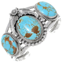 Turquoise Silver Cuff Bracelet 28627