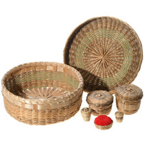 Vintage Native American Basket Set 35064