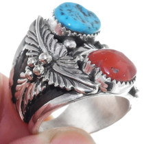 Native American Turquoise Ring 35078