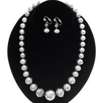 Old Pawn Desert Pearl Necklace Set 35083
