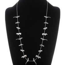 Vintage Sterling Silver Fetish Necklace 35085