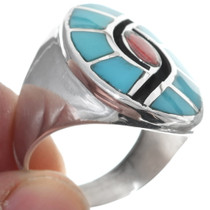 Sterling Silver Turquoise Ring 35089