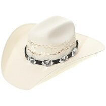 Silver Eagle Concho Hatband 35093