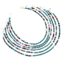 Authentic Native American Turquoise Necklace 35111