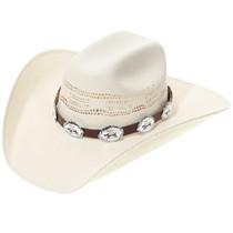 Silver Turtle Concho Hatband 35119