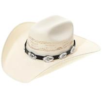 Silver Concho Bear Paw Hatband 35126