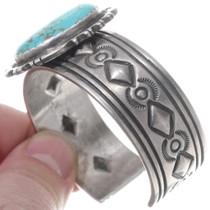 Native American Navajo Turquoise Cuff 35139