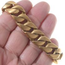 Heavy Gold Chain Bracelet 35151