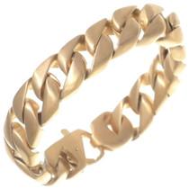 Gold Curb Link Bracelet 35151