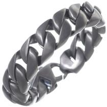 Satin Black Link Chain Bracelet 35160