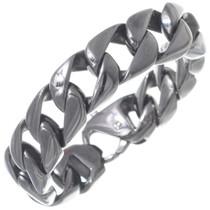 Gloss Black Curb Link Bracelet 35162