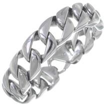 Silver Curb Link Bracelet 35163