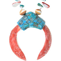 Beaded Heishi Santo Domingo Necklace 35176