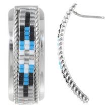 Native American Beaded Post Earrings 35187