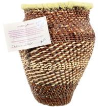 Vintage Native American Basket 35194