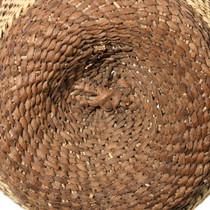 Apache Emma Armstrong Native American Basket Weaving 35196