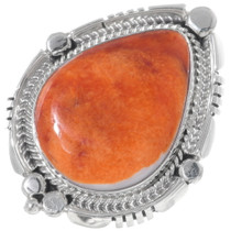 Navajo Spiny Oyster Ring 35208