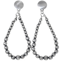 Silver Western Dangle Earrings 35223