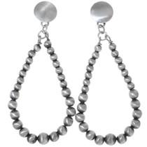 Silver Western Dangle Earrings 35223