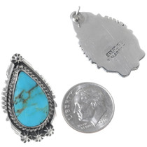 Sterling Silver Native American Earrings 35235